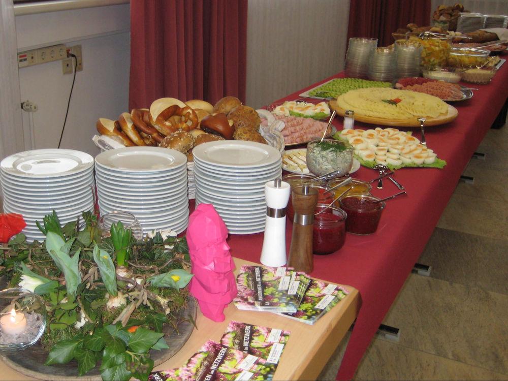 Buga Zwerg Karl Beim Frauenfrühstück In Lauffen